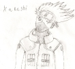 old Kakashi fan art
