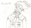 old Kakashi fan art